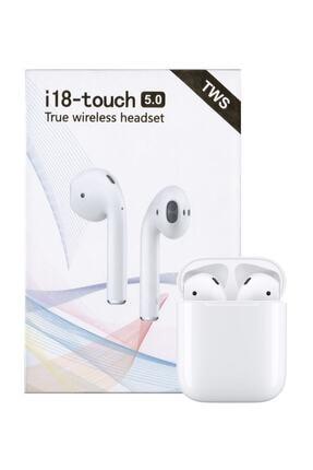 Tws Airpods I18-touch Bluetooth Kulaklık Apple Iphone Android Uyumlu Ultra Hd Ses Kalitesi 0