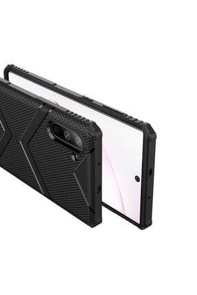 Zore Galaxy Note 10 Zore Hank Silikon Koyu Yeşil Kılıf 4