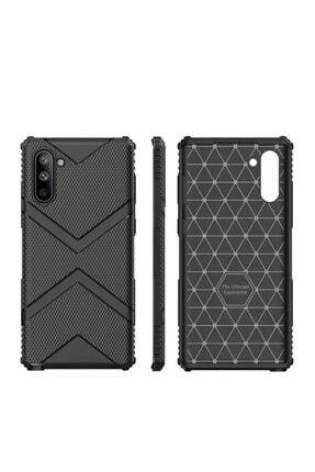 Dijimedia Galaxy Note 10 Kılıf Zore Hank Silikon Siyah 2