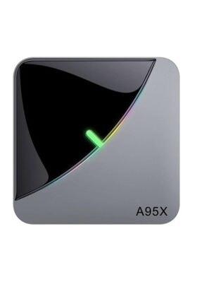 Tv Box A95x F3 Aır Akıllı Tv Kutusu Android 9.0 8k Medya Oynatıcı Amlogic S905x3 4 Gb/ 64gb Netflıx 2