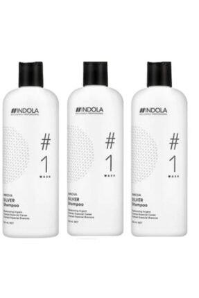 Indola Gümüş Yansıma Şampuanı 300 ml X 3 0