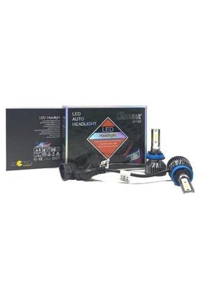 LEDMAX H11 Mini/slim Şimşek Led Xenon Far Ampul 8000 Lümen 6500 K Beyaz Renk, Fan Soğutuculu 1