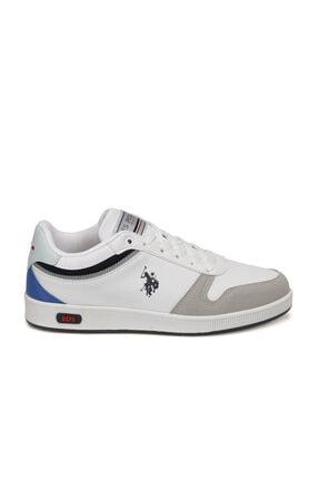 US Polo Assn Mango Beyaz Kadın Sneaker Ayakkabı 1