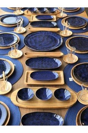 ROSSEV Kahvaltı Takımı Mare Kobalt 91 Parça 12 Kişilik 2