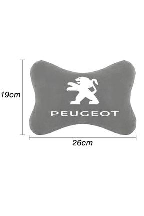 1araba1ev Peugeot Boxer Araba Oto Koltuk Boyun Yastığı Seyahat 2 Adet Yastık Gri 1