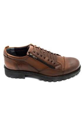 Onur Ayakkabı Erkek Taba Hakiki Deri Kışlık Ayakkabı 1
