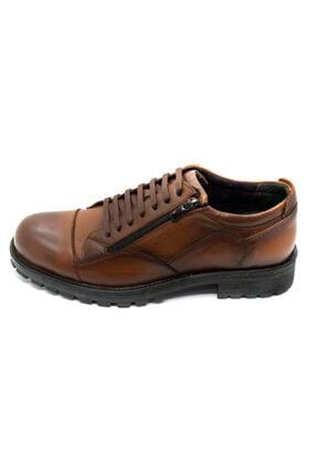 Onur Ayakkabı Erkek Taba Hakiki Deri Kışlık Ayakkabı 3