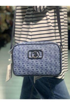 US Polo Assn Kadın Mavi Postacı Çanta 0