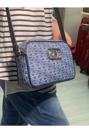 US Polo Assn Kadın Mavi Postacı Çanta 2