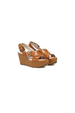 CLARKS Kadın Kahverengi Topuklu Sandalet 0