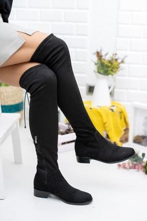 Daxtors Kadın Siyah Günlük Çizme 2