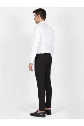 Mcr Erkek Siyah Slim Fit Kumaş Pantolon 1