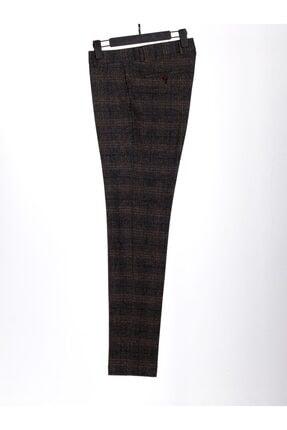 Mcr Erkek Kahverengi Model Super Slim Kumaş Pantolon 38909 0