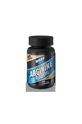 West Nutrition L Arjinin Arginine 1300 Mg 160 Kapsül 0