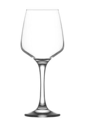 Lav Lal 6'Lı Kırmızı Şarap Kadehi 1
