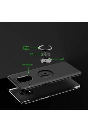 Hesaplı Dünya Xiaomi Redmi Note 9s Kılıf Selfie Yüzüklü Esnek Silikon Rvl 2