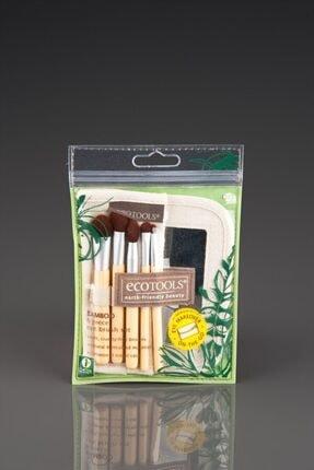 Ecotools Taklon Kıl Ve Bamboo Doğal Makyaj Fırça Seti 1