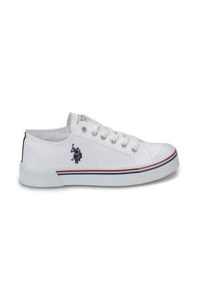 US Polo Assn U.s. Polo Assn. Kadın Spor Ayakkabı 8m Penelope Beyaz/White 20S04PENELOPE 1