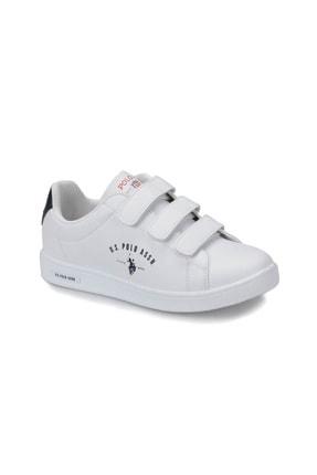 US Polo Assn U.s. Polo Assn. Kadın Ayakkabı 8P Singer Beyaz/White 20S048PSİNGER 0