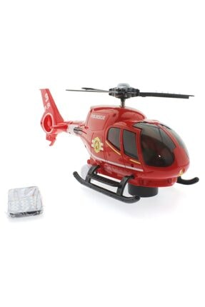 Mega Bloks U.k. Çarp Dönsün Kırmızı Helikopter 1