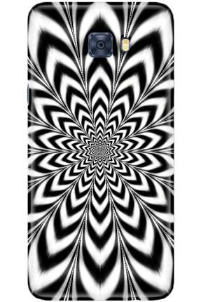 Noprin Samsung Galaxy C5 Pro Kılıf Silikon Baskılı Desenli Arka Kapak 0