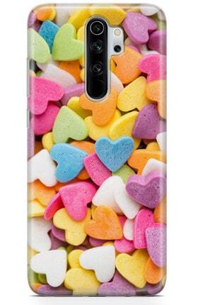 Zipax Huawei P40 Kılıf Şeker Kalpler Desenli Baskılı Silikon Kilif - Mel-109580 4