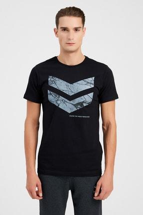 HUMMEL Erkek Spor T-shirt - Hmlsamuel Ss Tee 0