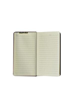 VOX Not Defteri 9x17,2 Cm Ivory Kağıt - Kalem Hediyeli (1022l) 1
