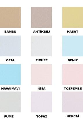 Fawori Silikonlu Ipek Iç Cephe Duvar Boyası 15 Lt Renk:firuze 3