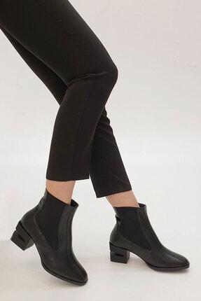 Marjin Diolas Kadın Topuklu Botsiyah 0
