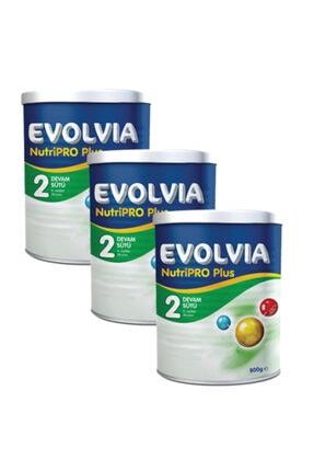 Evolvia 2 Devam Sütü Nutripro Plus 800 gr  3 Adet 0