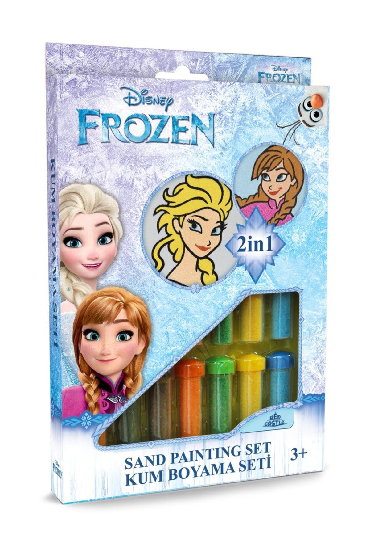 Frozen Kum Boyama Seti 2 in 1