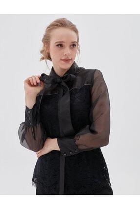 Kayra Kadın Siyah Bluz Ka-b20-10072 1