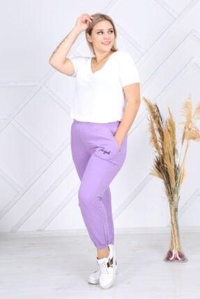 EMEZ Kadın Lila Eşofman Altı 3