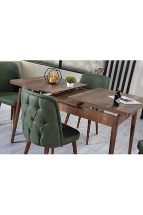 Ervo Yeşil Venüs Premier Yemek Masa Takımı 6 Sandalyeli 4