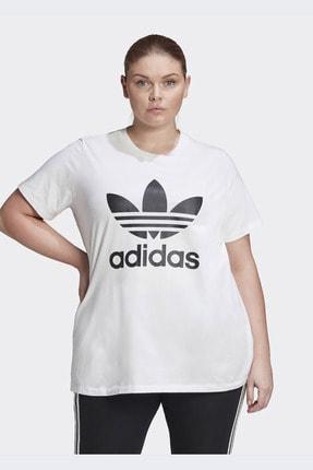 adidas Kadın Beyaz Günlük Trefoil Tee  T-shirt Gd2315 0