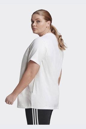 adidas Kadın Beyaz Günlük Trefoil Tee  T-shirt Gd2315 1