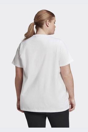 adidas Kadın Beyaz Günlük Trefoil Tee  T-shirt Gd2315 2
