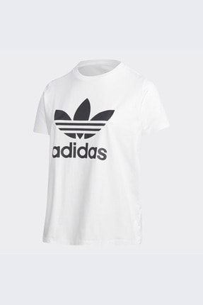 adidas Kadın Beyaz Günlük Trefoil Tee  T-shirt Gd2315 4