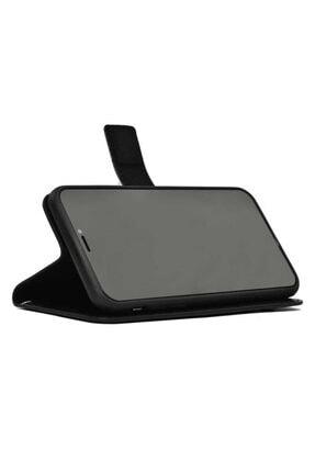 MOBAX Apple Iphone 11 Pro Kılıf Deri Deluxe Cüzdanlı Kapaklı Kılıf Gold 2