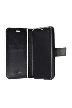 MOBAX Apple Iphone 11 Pro Kılıf Deri Deluxe Cüzdanlı Kapaklı Kılıf Gold 4