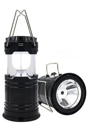 checkmate Şarjlı Usbli Solar Güneş Enerji Işıldak-Kamp Feneri Lambası 0