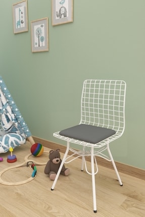 Evdemo Çocuk Sandalyesi Tel Gri 0