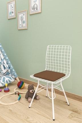 Evdemo Çocuk Sandalyesi Tel Kahve 0