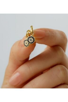 Gümüşistan 925 Ayar Gümüş Nazarlı Küpe 1