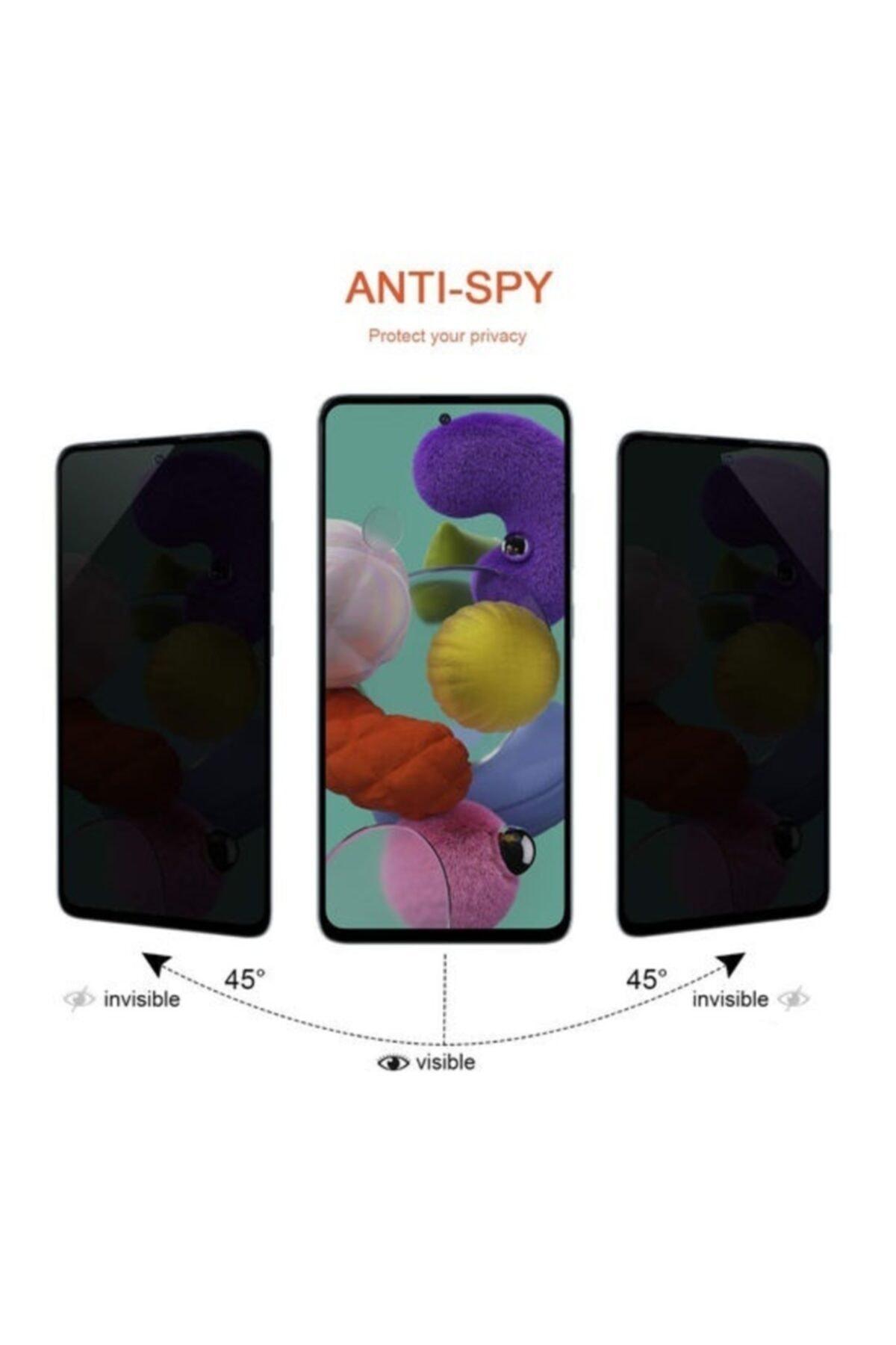 Zengin Çarşım Samsung Galaxy A51 Kavisli Gizlilik Filtreli Hayalet Ekran Koruyucu