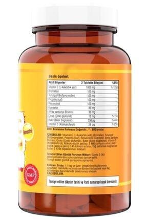 Ncs Vitamin C Çinko Propolis 120 Tablet Vitamin D Quercetin Resveratrol 1