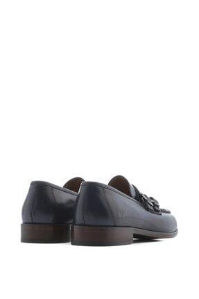 İlvi Carrie Erkek Makosen Ayakkabı Lacivert Alkollü 3