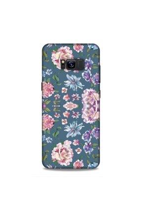 Pickcase Samsung Galaxy S8 Plus Kılıf Desenli Arka Kapak Ortanca 0