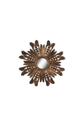 Warm Design Antik Altın Ayna 0